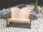 Recycled Poly Patio Double Glider
